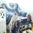 crochet pattern cushion cover - Blanket Tapestry Cover Pattern Constellation Painting Crochet Cushion Towel New