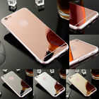 Soft Silicone TPU Ultra-slim Mirror Case Cover For Apple iPhone 6 6s Plus