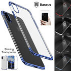 iPhone X 8 7 Plus Ultra Thin Transparent Shining Clear Shockproof Bumper Case