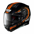 NOLAN N87 FULGOR BLACK & ORANGE MOTORCYCLE HELMET ( DARK VISOR AVAILABLE)