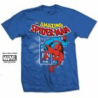 Amazing Spiderman T-Shirt Marvel Comics Stamp Logo Great Gift for any fan