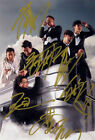 Signed Photo LAY Zhang Yixing Show Luo Joe Chen Go Fighting Hand Autograph