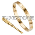 Unisex Men&#039;s Women&#039;s Steel Fashion Love Screw Bangle Bracelet With screwdriver <br/> Good Quality.!Contain Engraving!Two Screws!