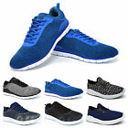 Mens Air Tech Shock Absorbing Running Sports Gym Fitness Trainers Shoes Size 3-8