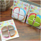 4pc Baby Kid Corner Guards Safety Silicone Protector Table Edge Protection Cover
