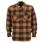 DICKIES NEW Mens Sacramento Shirt Brown Duck BNWT
