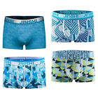 4 pack JINSHI Men underpants soft trunks boxer brief