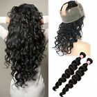 Brazilian Hair  Body Wave Human Hair 3Bundle/150g With 360 Lace Frontal Closure