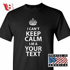 carry on keep calm - Custom I Can't Keep Calm T-Shirt Personalized I'm A and Cant Carry On Sm - 3Xlg