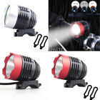 Waterproof USB Power LED Bike Bicycle Front Light Headlamp Headlight Torch 1Pc