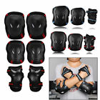6Pcs Bike Skating Protective Gear Sets Elbow Knee Pads Skateboard For Adult Kid