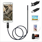 HD 1200P 8mm USB Endoscope Borescope Snake Inspection Phone Camera for Phone PC