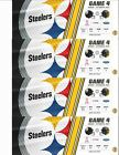 4 TICKETS JACKSONVILLE JAGUARS @ PITTSBURGH STEELERS OCT. 8