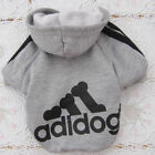 Casual Winter Adidog Pets Dog Clothes Warm Hoodie Coat Jacket Clothing For Dogs <br/> The Lowest Price!!1 Day Shipped!!SIZE:XS~9XL!!