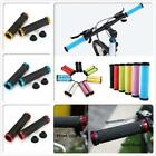 Bicycle MTB Mountain Bike BMX Lock On Locking Rubber Handle Bar Grips Anti Slip