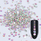 1440pcs Nail 3D Rhinestones Gems Nail Art Decoration Manicure Colorful Tips DIY