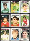 A&BC Footballers orange back 1970 2nd series - choose your card (85-132) UPDATED