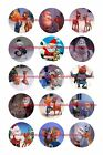 "RUDOLPH CHRISTMAS 1"" CIRCLES BOTTLE CAP IMAGES. $2.45-$5.50 ***FREE SHIPPING***"