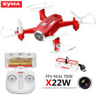 Syma X22W 2.4G 4CH Mini RC Drone with WIFI Camera FPV Real Time Hover Quadcopter