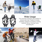 Mountaineering Hiking Crampons 18 Teeth Outdoor Antislip Ice Snow Shoe Spikes ML