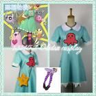Star vs.the Forces of Evil Princess Star Butterfly Magic Dress Cosplay Costume
