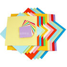 100 Sheets Mixed Assorted Colors Origami Square Papers DIY 7 10 13 15 20 25cm