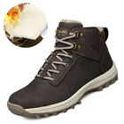 Men Winter Snow Boots Outdoor Military Combat Super Warm Work Ankle Hiker Shoes