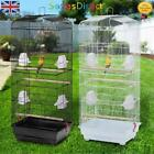 Premium XL Large Bird Cage Black & White Available Cockatoo Parrot Budgie Finch