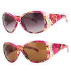 Women Pink Tree Camouflage Camo Sports Hunting Rhinestone Sunglasses Shade