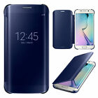 Plated Metal Mirror Flip Case Cover For Samsung Galaxy S8&iPhone 6 7 8 Plus X