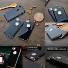 For iPhone 7 / Plus Phone Case Shockproof Silicone Jet Black Cover Rubber Bumper
