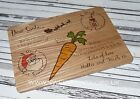 Personalised Santa/Father Christmas Christmas eve wooden treat boards / plate