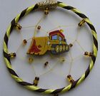 Bulldozer, Digger, Cement Lorry MINI Dreamcatcher Dream Catcher Christmas Gift