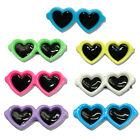 7pcs Dog Hair Bows Clips Pet Puppy Cat Grooming Accessory Sunglasses for Yorkie