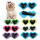 7pcs dog hair bows clips pet puppy