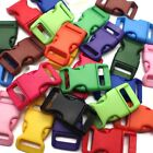 15mm Buckles Bent Buckle Bracelet Buckle Click Closure Multicolour