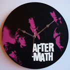 """The Rolling Stones - Aftermath (1966) - 12"""" Vinyl Record Clock, jagger, richards"""