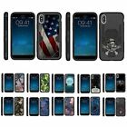 For Apple iPhone X / iPhone 10 Heavy Duty Armor Hybrid Holster Belt Clip Case