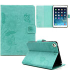 Pure Colour Pattern Case Flip Leather Card Wallet Cover For iPad2/3/4 Mini/Pro