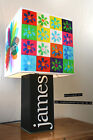 Handmade James Lamp + Album Cover Lampshade. Sit down, Tim Booth, Laid, Stutter