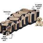 Portable Soft Sided Pet Crate Carrier Ventilated Folding Travel Pad Bed Dog Bag