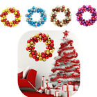 Christmas Party Wreath Xmas Ball Garland Hanging Window Door Wall Decoration