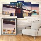 5-Panel  Modern Canvas Home Wall Decor Art Painting Picture Print Framed 39""