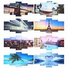 Art - 5-Panel  Modern Canvas Home Wall Decor Art Painting Picture Print Framed 39