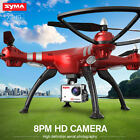 Syma X8HG 8.0MP Camera 4CH 6-Axis RC Drone Headless Quadcopter For Hallowmas Toy