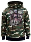 Men's Galaxy Blunt Rolling Weed Camo Hoodie Space Marijuana Kush High Cannabis