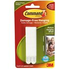 3M Command Narrow Picture Poster Hanging Strips Damage Free Decorating 17207