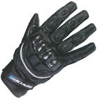 Spada Blast short motorcycle leather gloves VENTED KNUCKLE ARMOUR PROTECTION