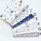 160*50CM sail Cotton Fabric Patchwork Baby infant linens bedding Sewing tissue