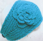 SUPER SALE!! Cheveux Knit Headband with Flower Design SEE ALL COLORS NWT